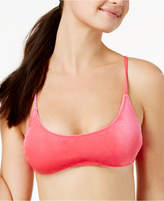 California Waves Velvet Bralette Bikini Top, Available in D/DD