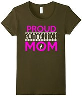 Women's Strend Family Proud Gymnastics Mom T-shirt Large