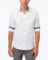 INC International Concepts Men's Banquo Multi-Pocket Long-Sleeve Shirt, Only at Macy's