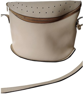 Delvaux Beige Leather Handbags