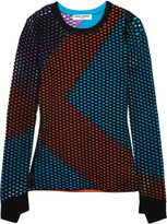 Opening Ceremony Stretch intarsia-knit top