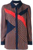 Diane von Furstenberg 'Rickrack' shirt - women - Silk/Spandex/Elastane - 2
