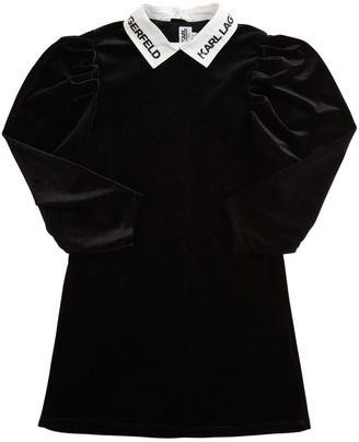 Karl Lagerfeld Paris Velvet Dress