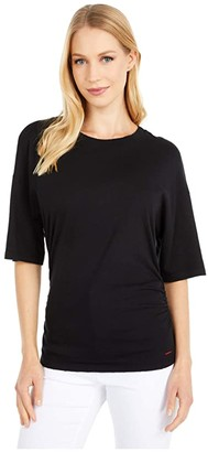 n:philanthropy Harp Tee (Black Cat) Women's Clothing
