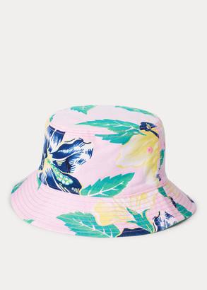 Ralph Lauren Reversible Oxford Bucket Hat