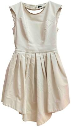 Mangano Pink Cotton Dress for Women