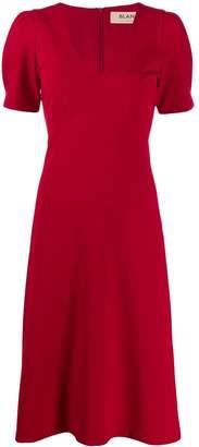 Blanca Vita v-neck midi dress