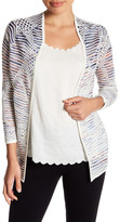 Nic+Zoe Wildflower Knit Cardigan (Petite)