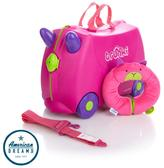 Trunki Ride-On Suitcase with Yondi Neck Pillow