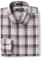 Banana Republic Camden-Fit Non-Iron Multi Plaid Shirt