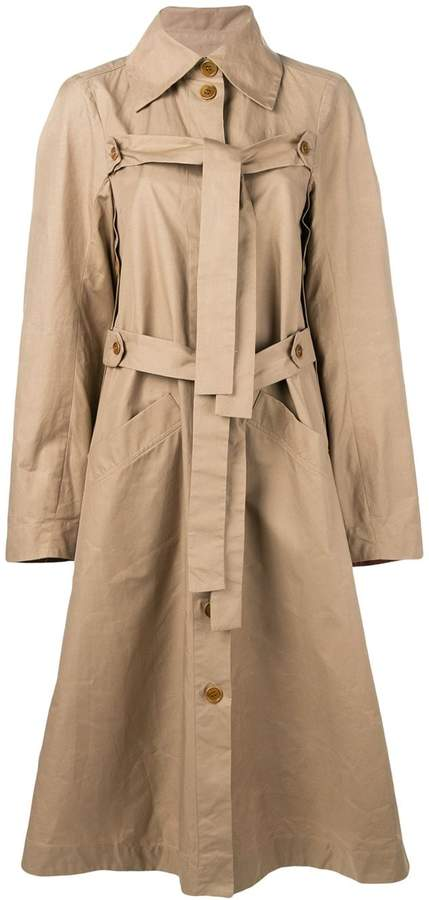 Henrik Vibskov Onion trench coat