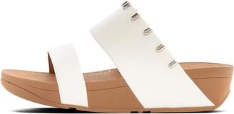 FitFlop Dinah Art-Stud Leather Slides