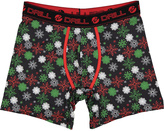 Black Snowflake Boxer Briefs