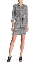 Donna Morgan Belted Jersey Dress
