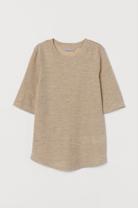 H&M Wool jersey T-shirt
