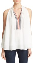 Apiece Apart Women's Asientos Embroidered Swing Top