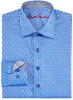 Robert Graham Boys' Gene Motif Dress Shirt