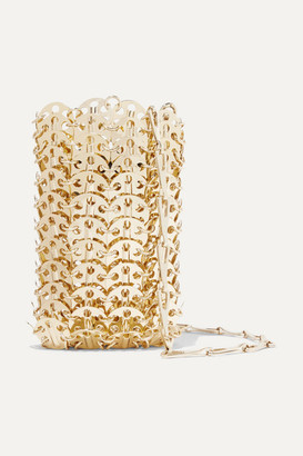 Paco Rabanne Mini 1969 Chainmail Shoulder Bag - Gold
