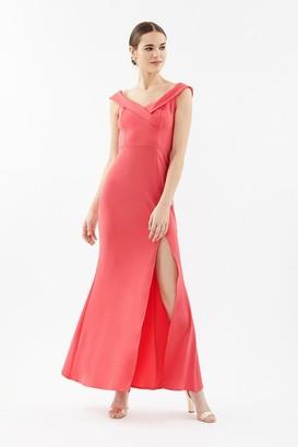 Coast Bardot Cross Neck Maxi Dress