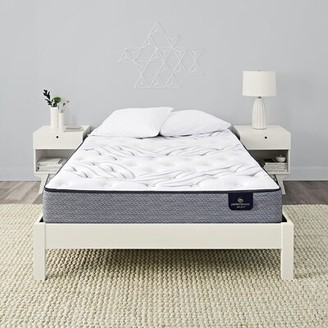 "Serta Perfect Sleeper 11"" Kleinmon II Plush Innerspring Mattress and Box Spring Mattress Size: Twin, Box Spring Height: Low Profile (5"")"