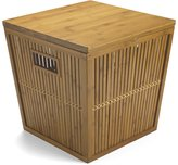 Bamboo Lattice Storage Stool