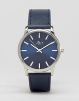 Limit Watch In Navy Exclusive To ASOS
