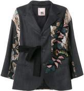 Antonio Marras brocade tapestry patch oversized jacket