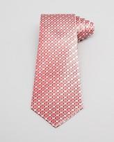 Armani Collezioni Geo Pattern Classic Tie