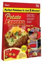 As Seen on TV® Potato Express Microwave Potato Cooker