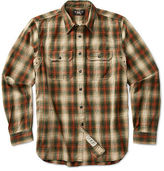 Ralph Lauren RRL Classic Plaid Cotton Workshirt