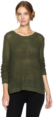 Jack by BB Dakota Women's Dunning Waffle Stitched Sweater