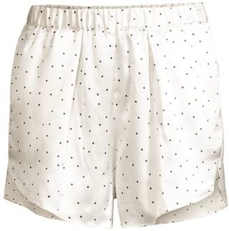 Maison du Soir Firenze Polka Dot Pajama Shorts