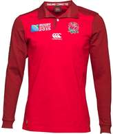 Canterbury of New Zealand Junior England Classic Alternate Shirt True Red