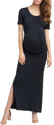 Nom Maternity Hugo Maxi Maternity Dress