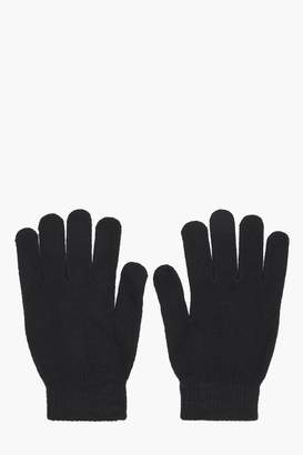 boohoo Mens Thermal Magic Gloves With Grip