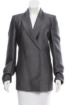 Acne Studios Wool & Mohair-Blend Embellished Blazer