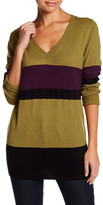 Sisters Striped V-Neck Sweater