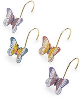 Lenox 12-Piece Butterfly Meadow Shower Curtain Hook Set