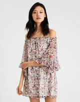 American Eagle Outfitters AE OFF-THE-SHOULDER SHIFT DRESS