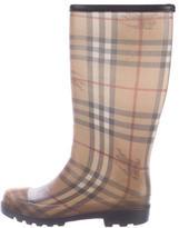 Burberry Rubber Rain Boots