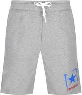 Converse Box Star Logo Jersey Shorts Grey