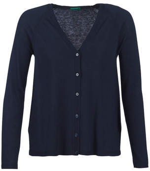 Benetton VANERA women's Cardigans in Blue