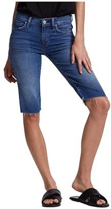 Hudson Amelia Cutoffs Knee Shorts in True Colors (True Colors) Women's Shorts