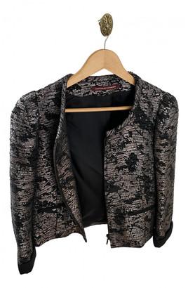 Comptoir des Cotonniers Black Glitter Jackets