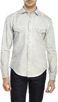 Earnest Sewn Light Grey Irving Denim Shirt