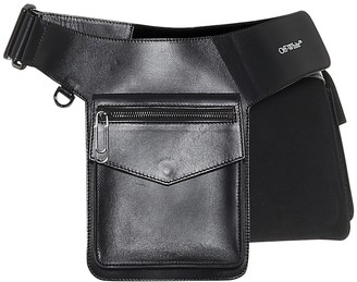Off-White Pocket leather belt bag