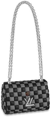 Louis Vuitton Twist Damier Quilted BB Black/White