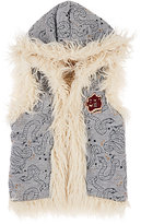 Scotch R'Belle FAUX-SHEARLING-LINED VEST