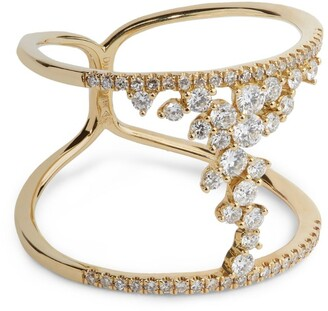 Djula Yellow Gold And Diamond Fairy Tale Ring
