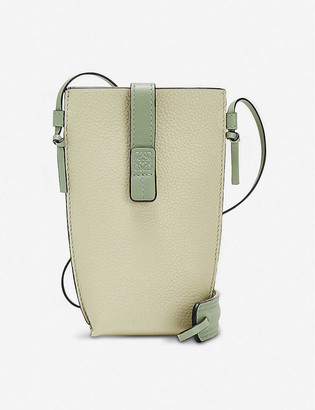 Loewe Pocket leather pouch